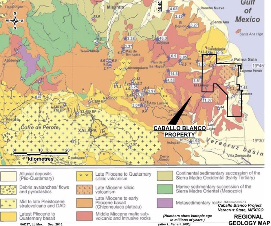 Caballo Regional Geology Map